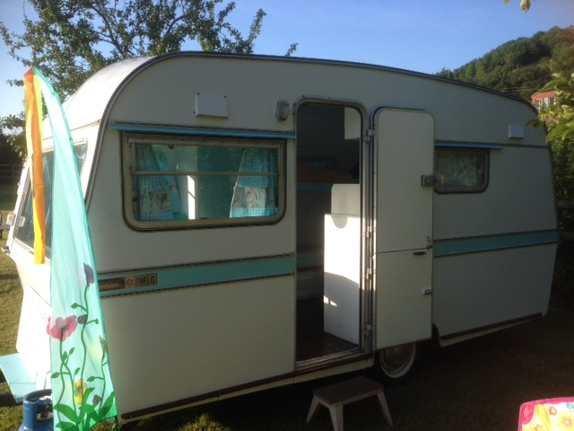 Original Caravan For Hire At South Bay In Brixham  3 Bedrooms To Rent In